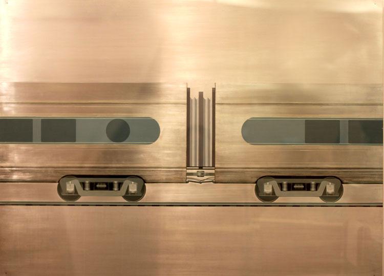 """Untitled   Aluminum & Plexiglass, 36"""" x 48"""""""