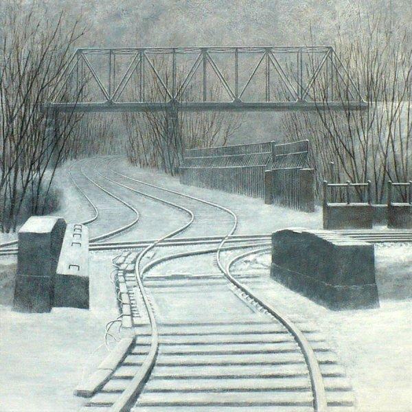 "Crossing Acrylic on Canvas 36"" x 36"".jpg"