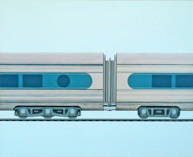 "UNTITLED, Acrylic on Canvas, 24"" x 30"""