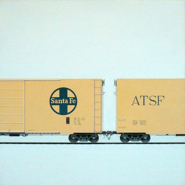 "Yellow Santa Fe - Acrylic on Canvas, 30"" x 30"".jpg"